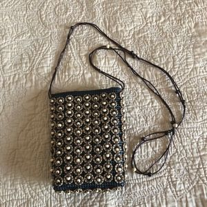Handbags - Beaded Cross Body Bag - Adorable!